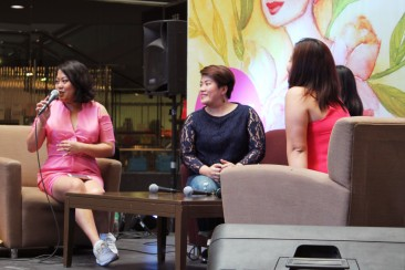 Beauty and Brains Filipina Entreprenuers Rosario Juan of Commune Philippines, Darlyn Ty of Zenutrients and Angela Dinglasan of Belle De Jour Planner.