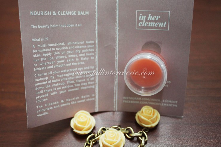 in-her-element-nourish-cleansing-balm-review-fallintoreverie